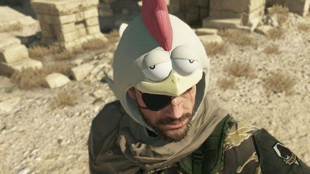 sombrero de gallina Metal Gear Solid V