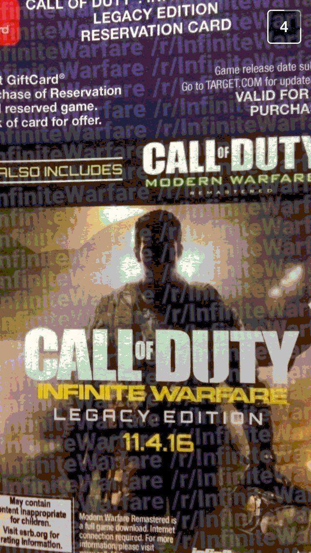 call of duty infinite warfare playerreset