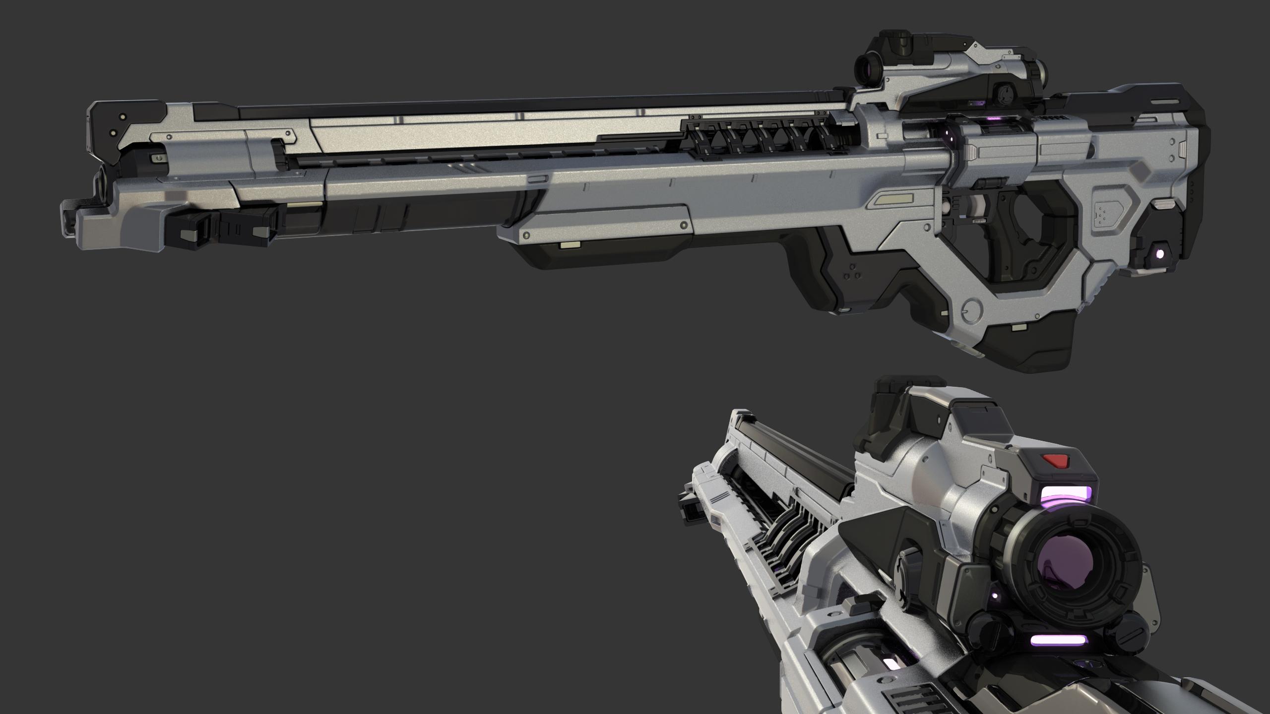 Cameron Kerby - Vortex Rifle Render