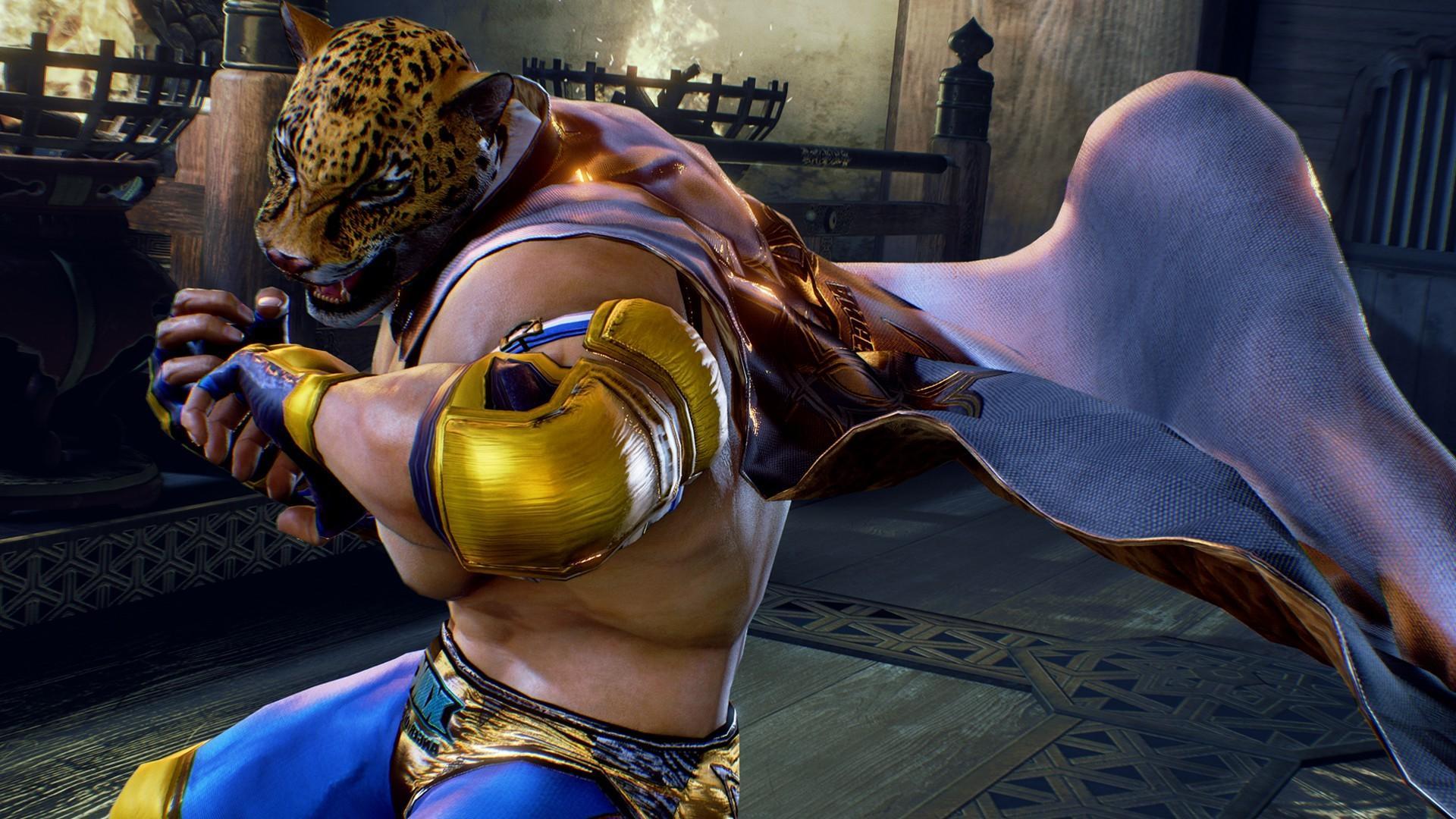 King- Tekken- mejores personajes mexicanos de videojuegos