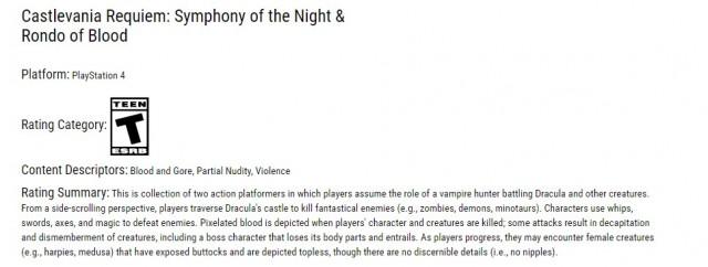 Castlevania Requiem Symphony of the Night