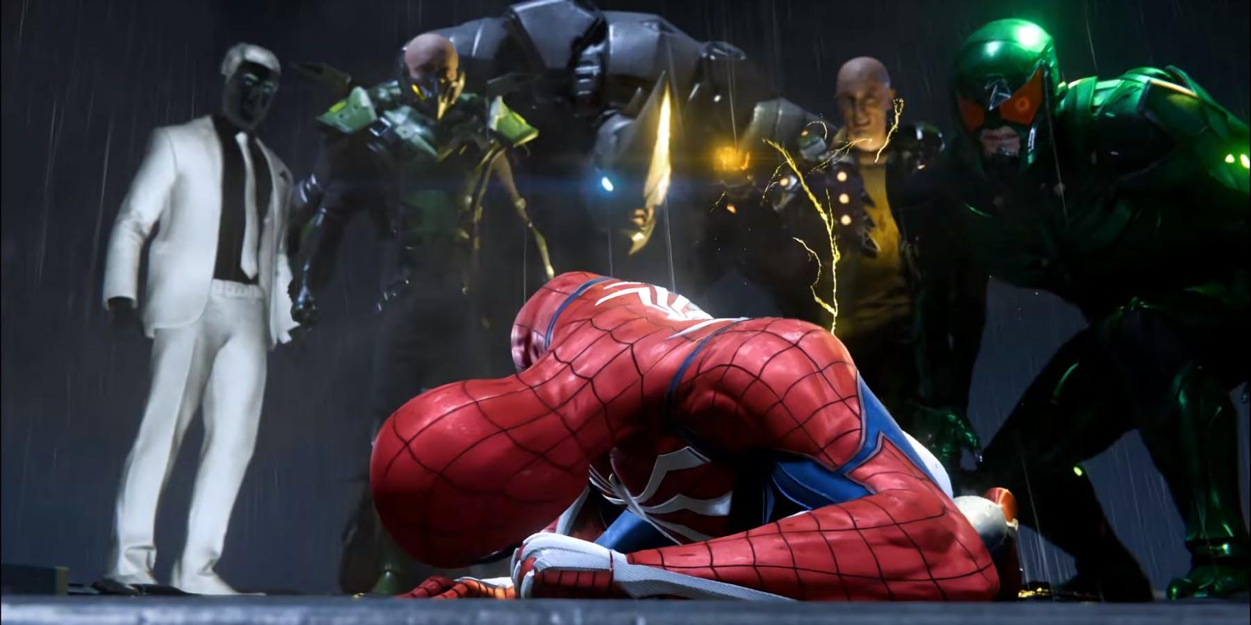 villanos de Marvel's Spider-Man