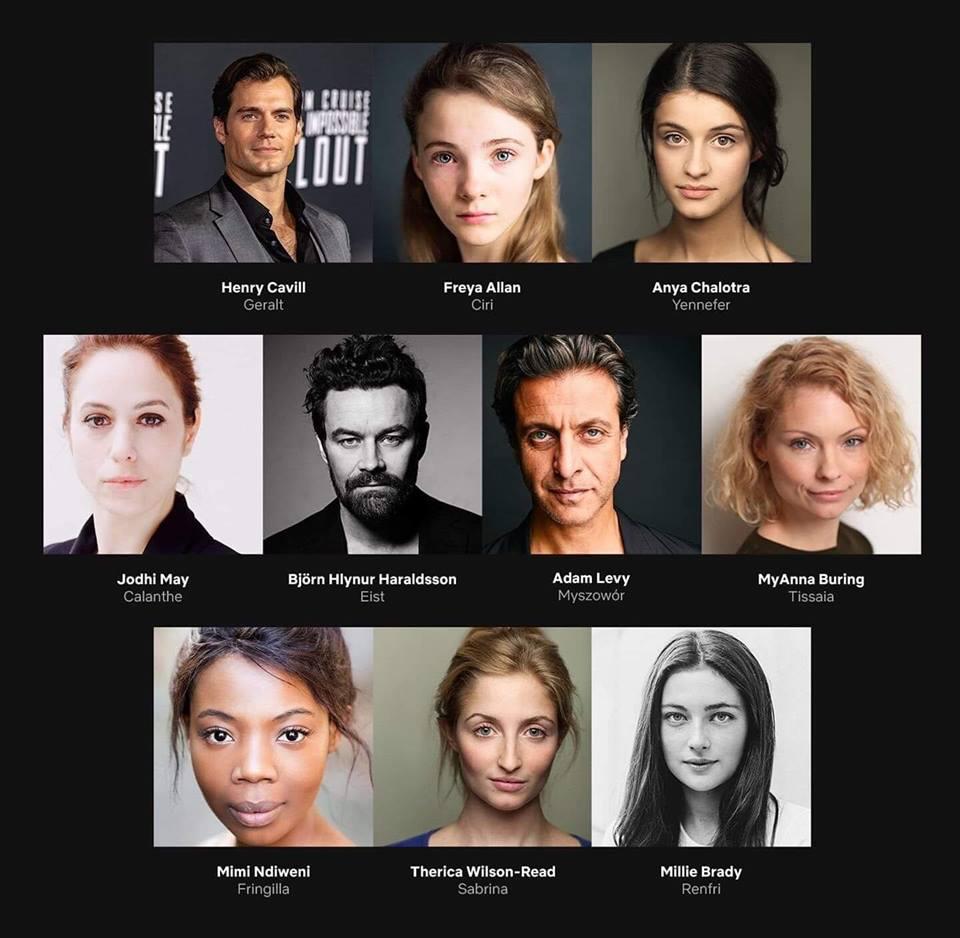 cast de The Witcher