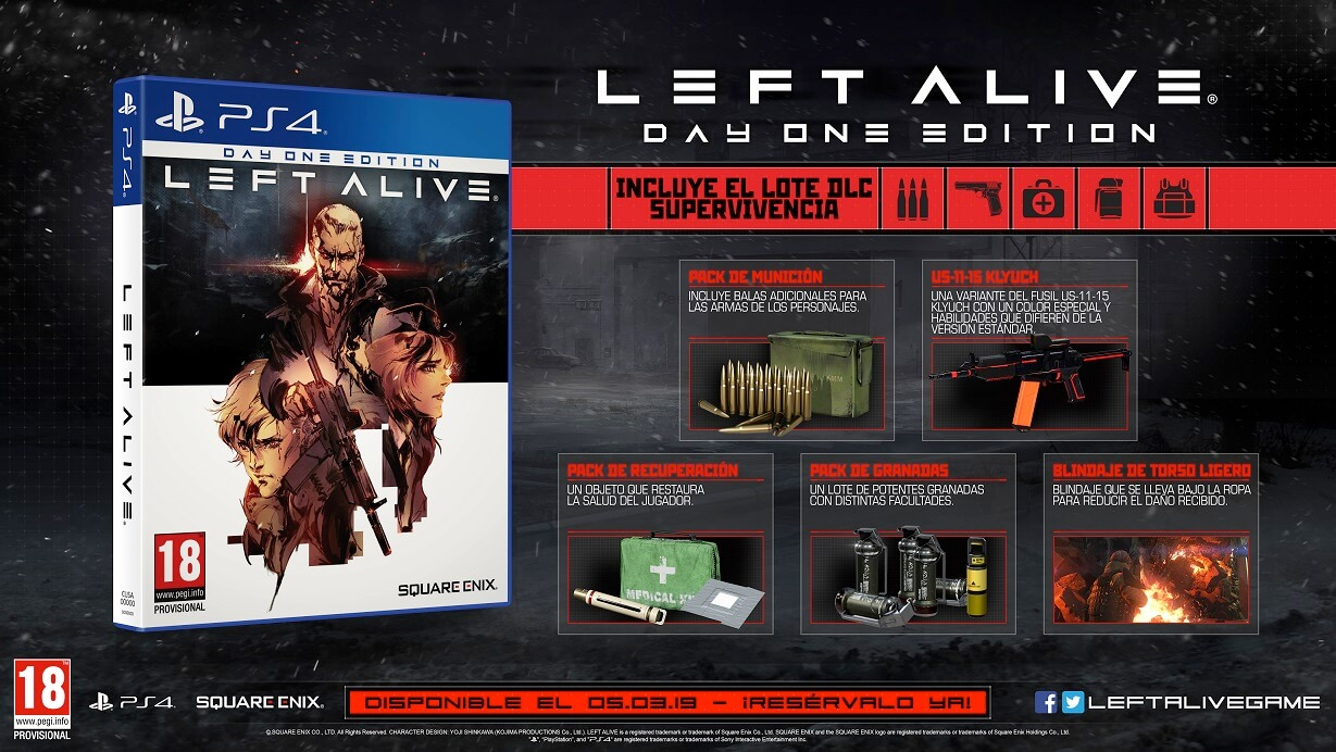 day one edtion Left Alive
