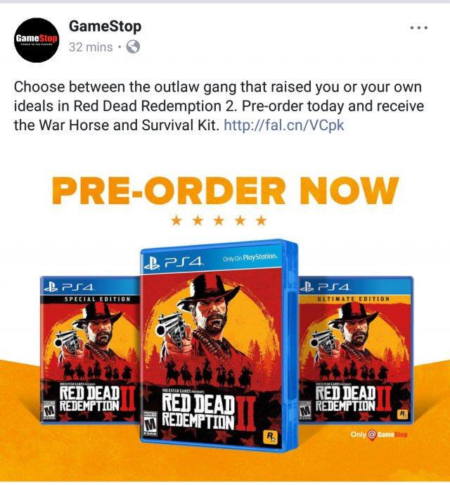 Red Dead Redemption 2 vendrá en dos discos