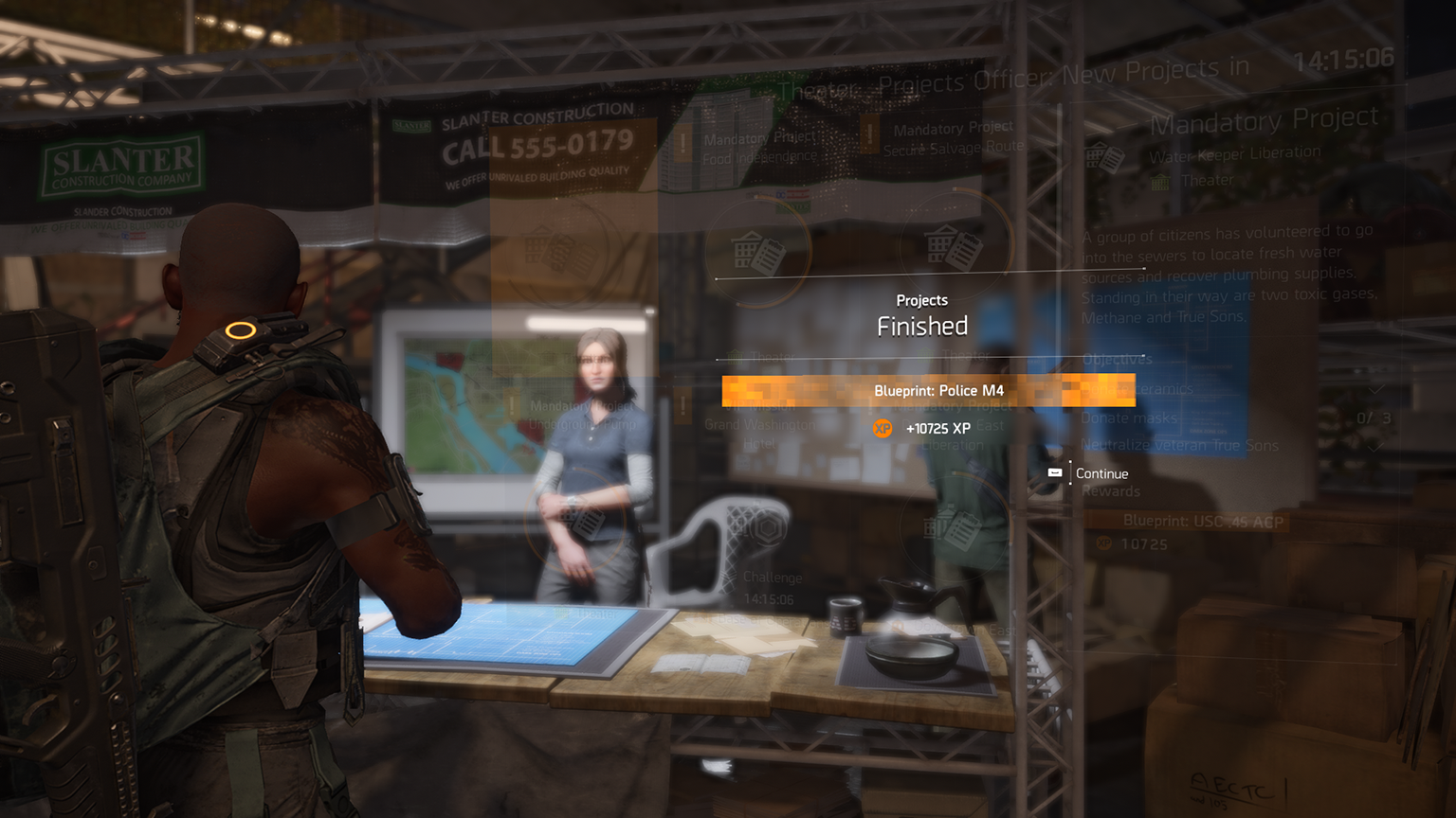 The Division 2 project