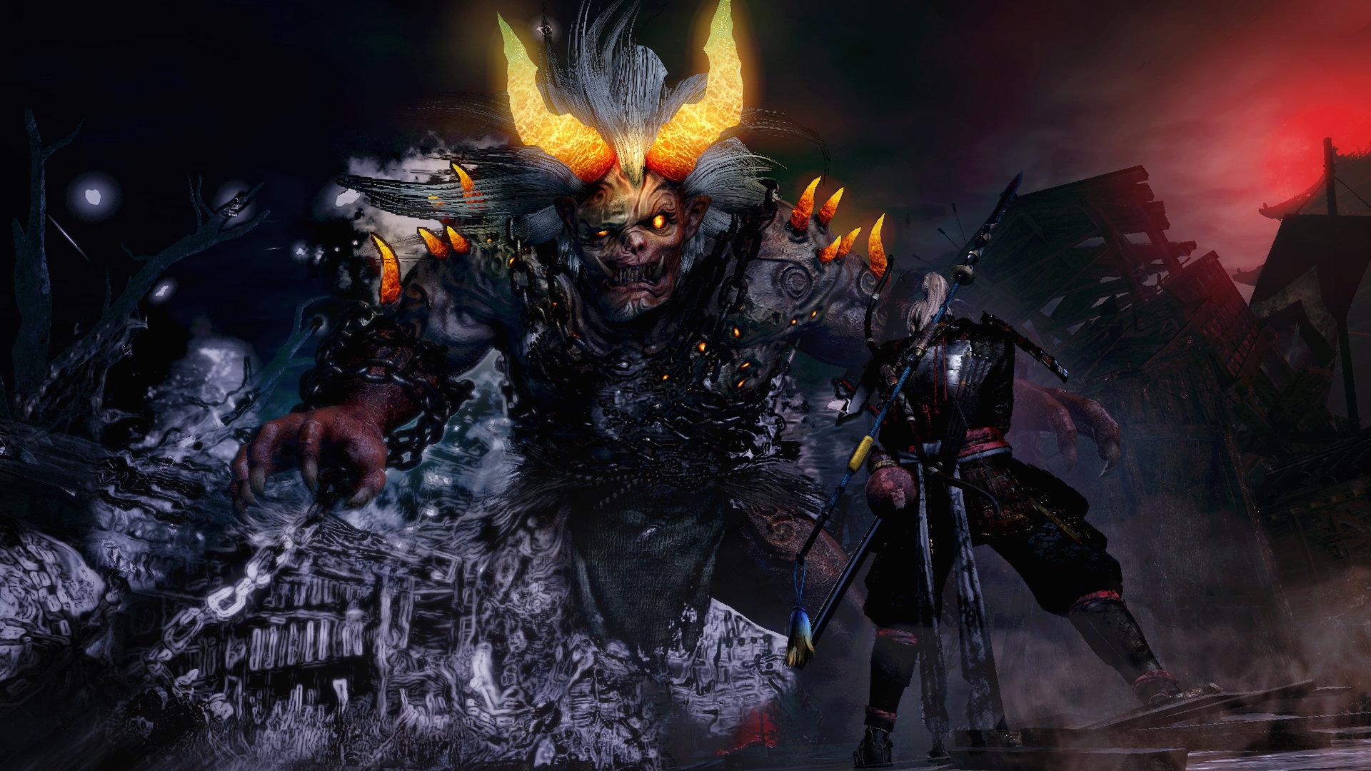 nioh juegos basados en el Japón feudal
