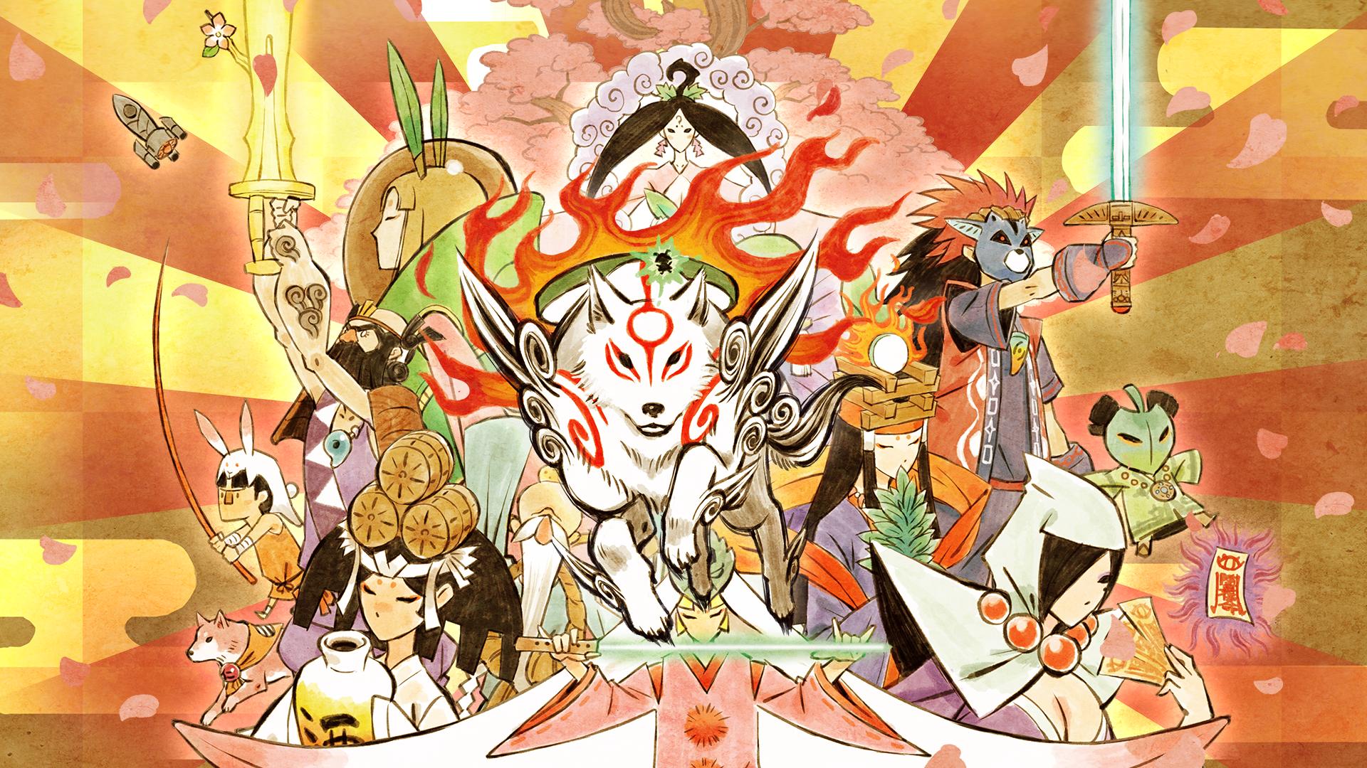 okami juegos basados en el Japón feudal