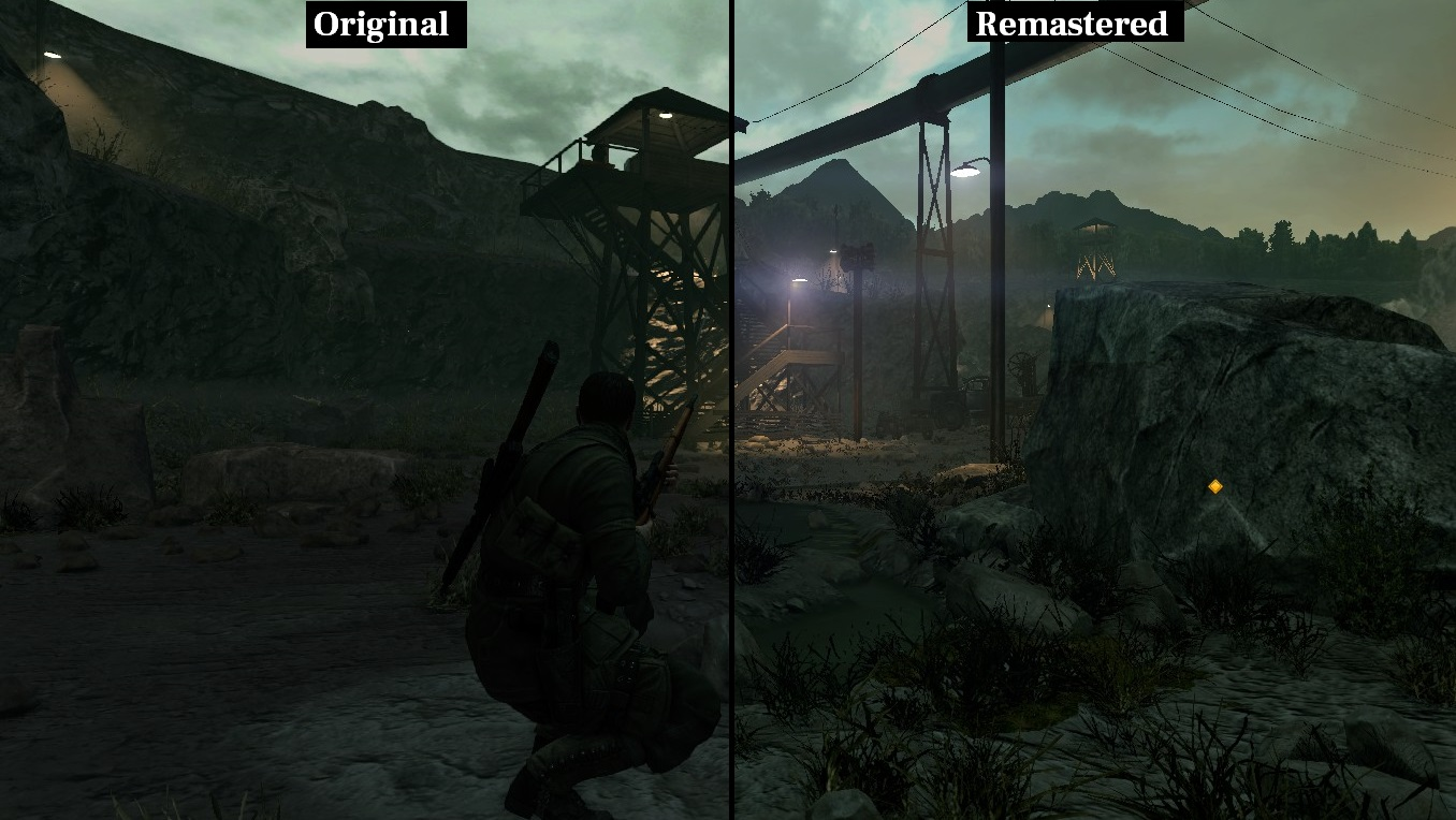 Sniper Elite Remastered graficos