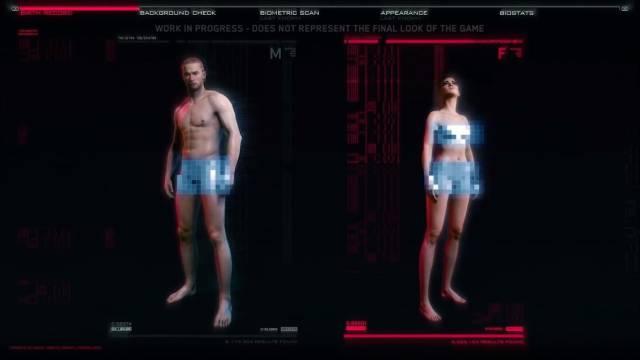 selección de género cyberpunk 2077