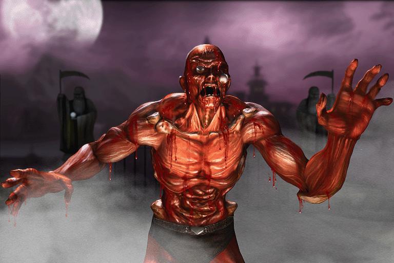 Meat Mortal kombat