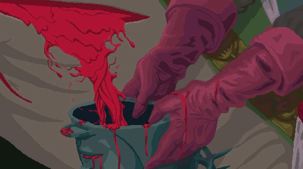 sangre blasphemous