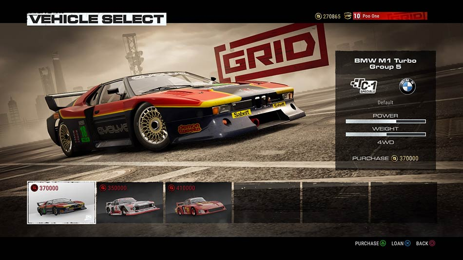 grid cars