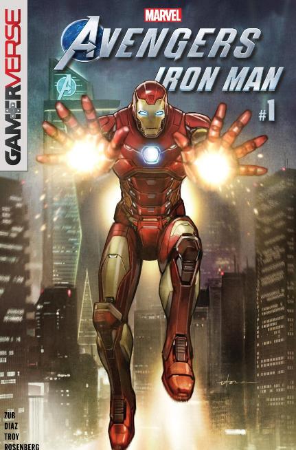 portada Marvel's Avengers: Ironman #1