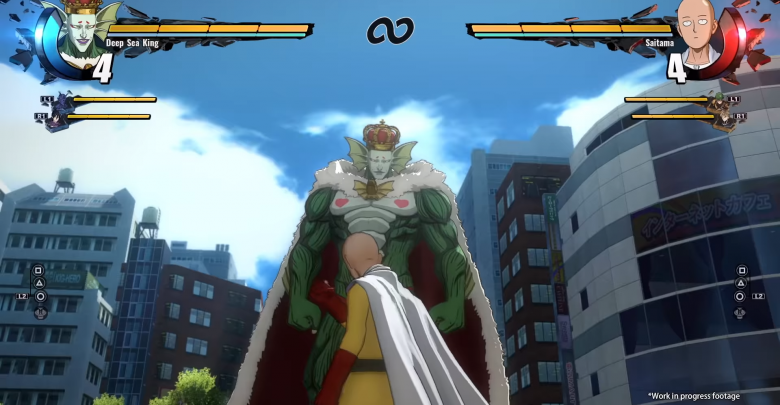 One Punch Man combate