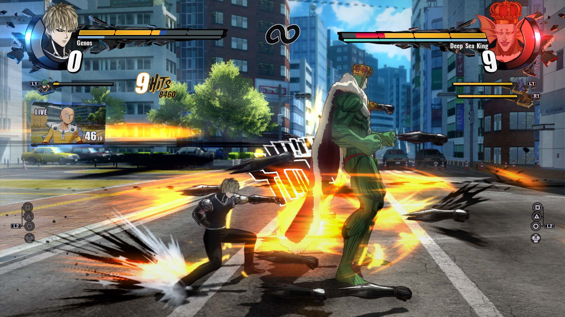 One Punch Man graficos