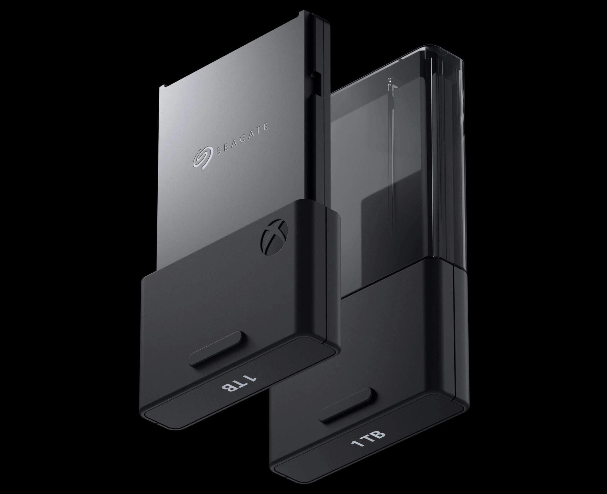 Xbox series X memoria seagate