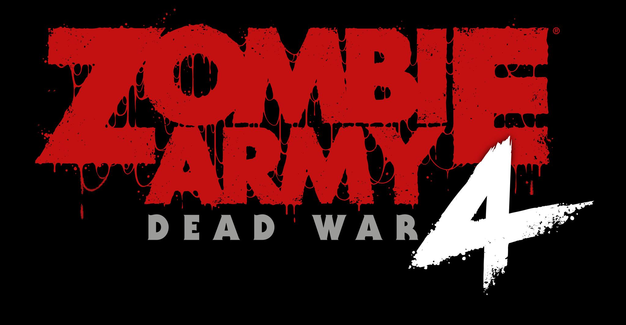 Zombie army 4 logo