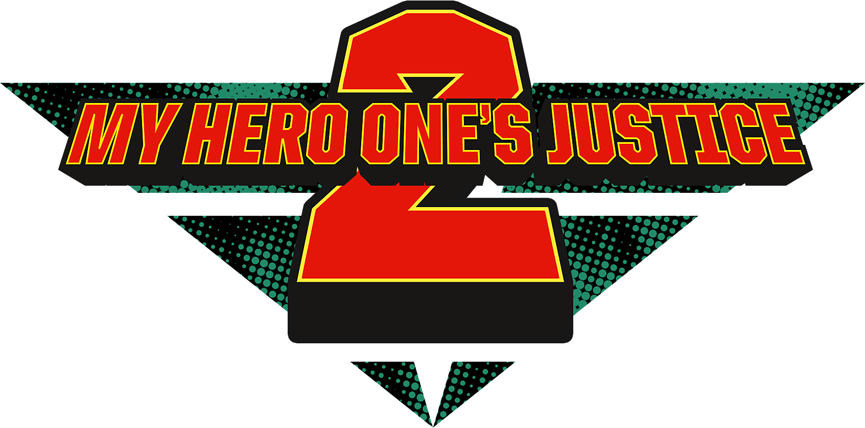 my hero one justice 2 logo