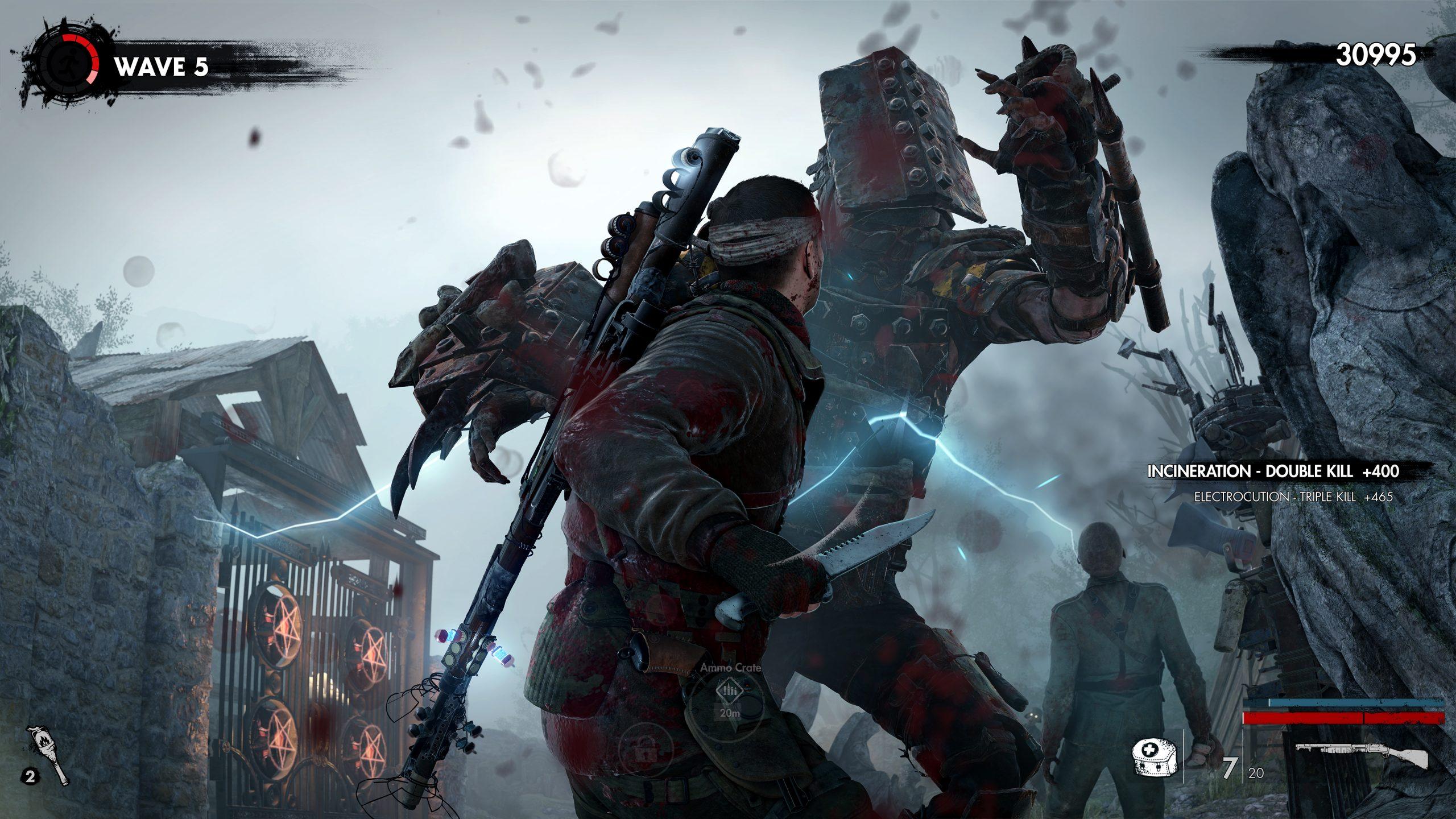 zombie army 4 jefes