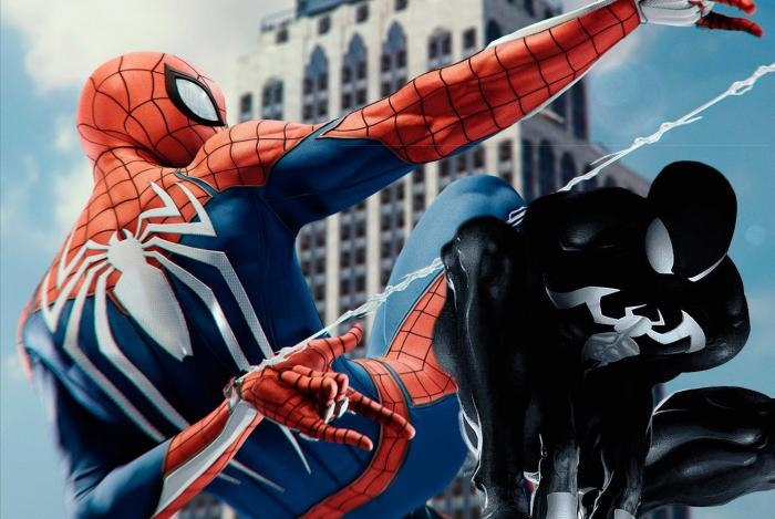 Marvels Spiderman 2-traje negro