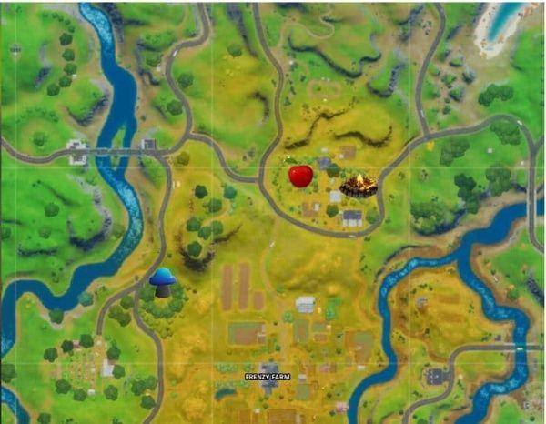 desafíos de la Aventura de Skye -finca-manzana ubicación