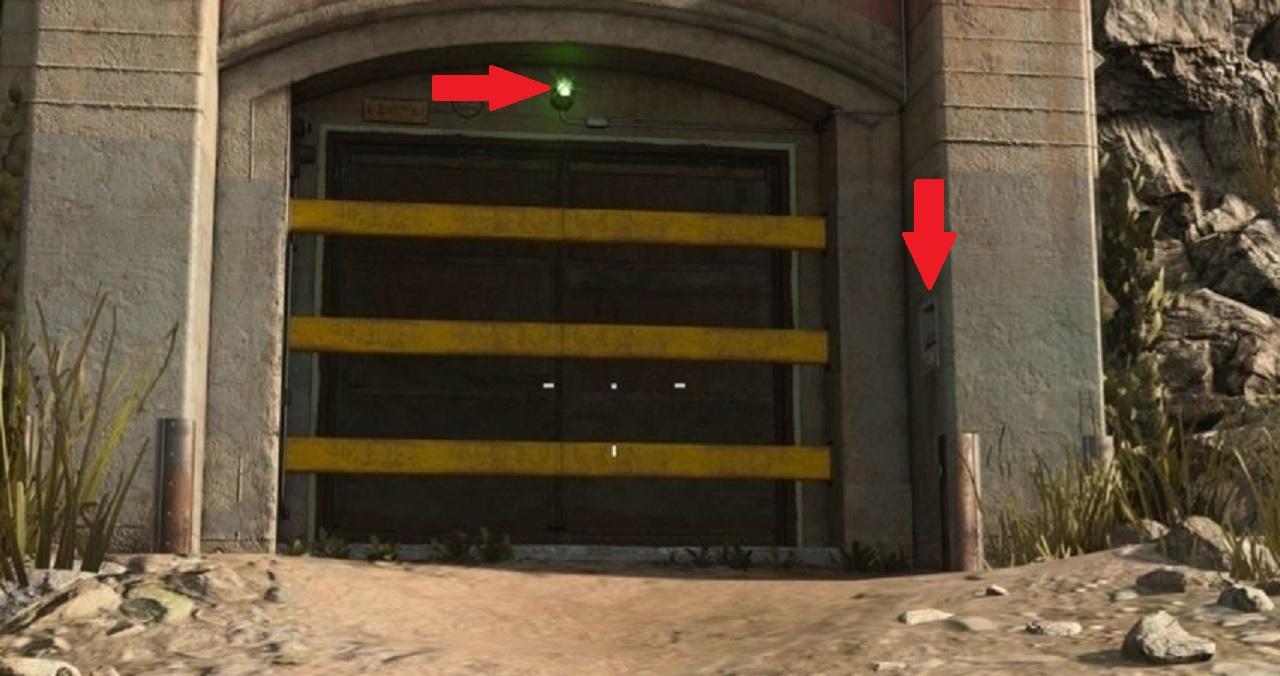 Cod warzone -Bunkers-Luz-Verde Cómo abrir Bunker