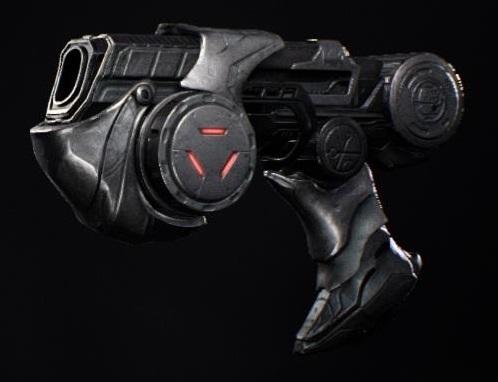 cañón de plasma Predator Hunting Grounds