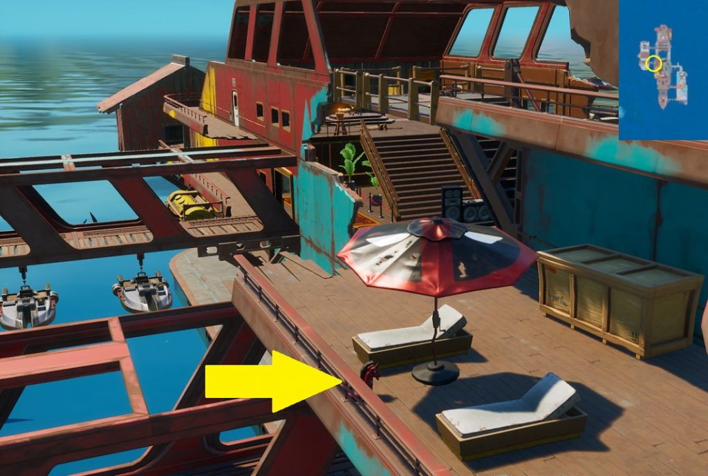 Fortnite - Encuentra los Flotadores - Flotador 3