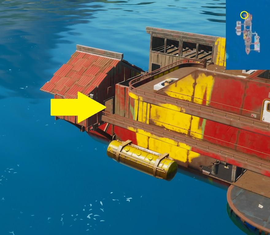 Fortnite - Encuentra los Flotadores - Flotador 4
