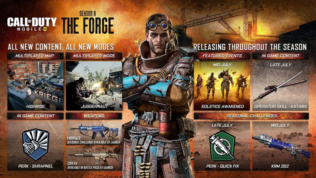 CoD Mobile - The Forge - Eventos