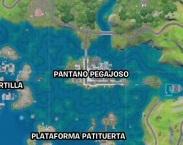 Fortnite - Desafíos Semana 7 - Pantano Pegajoso Nuevo