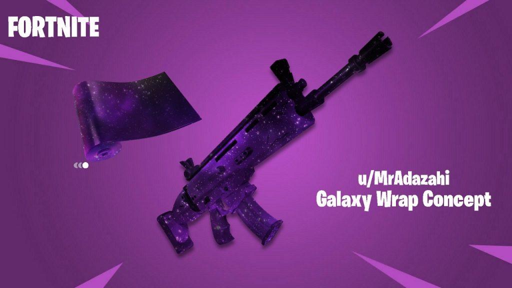 Fortnite - Galaxy Scout Skin - Arma Galaxy