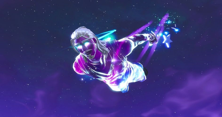 Fortnite - Galaxy Scout Skin - Descenso