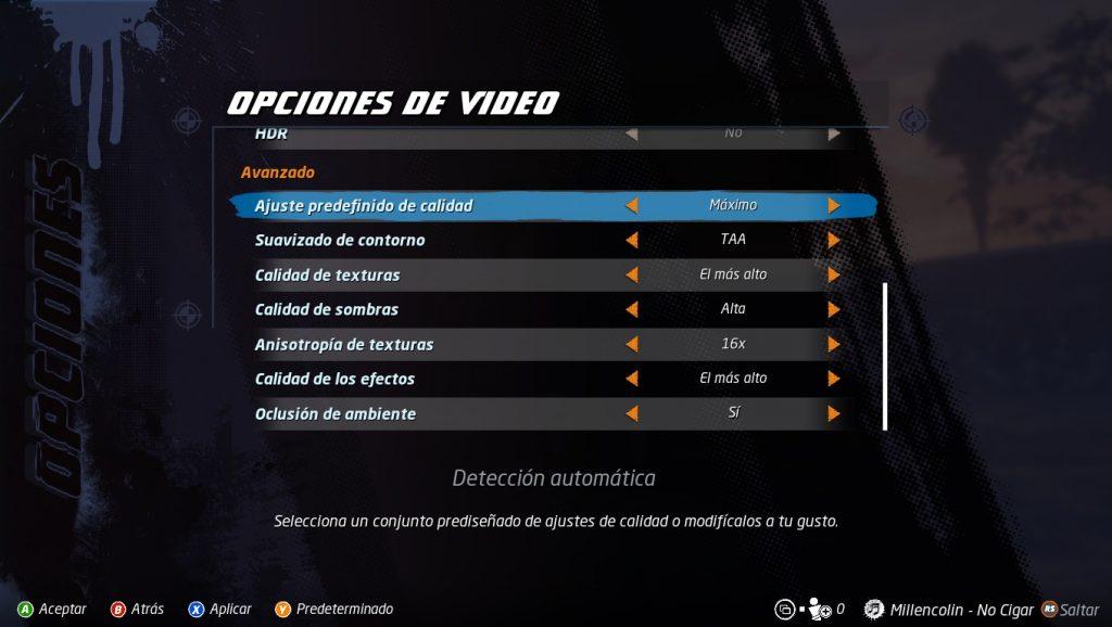 Tony Hawk's Proskater 1+2 ajustespc