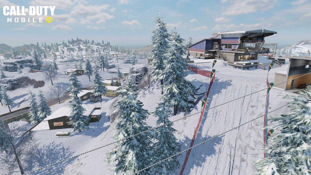 cod mobile temporada 13 winter war snow board