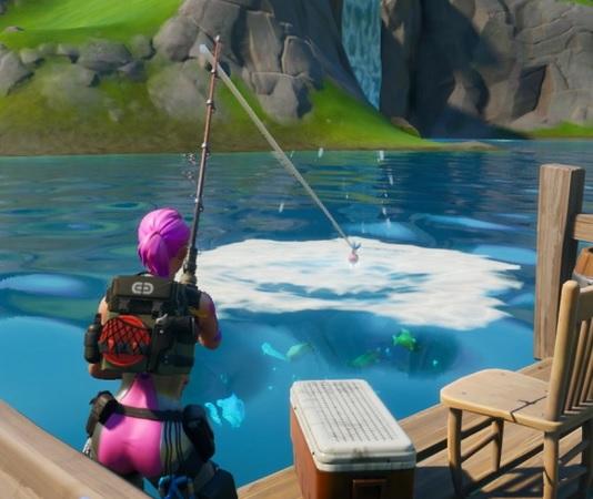Donde pescar al Pescao nevado de Operación Enfriamiento
