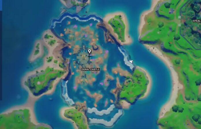 ubicación gnomo castillo coral