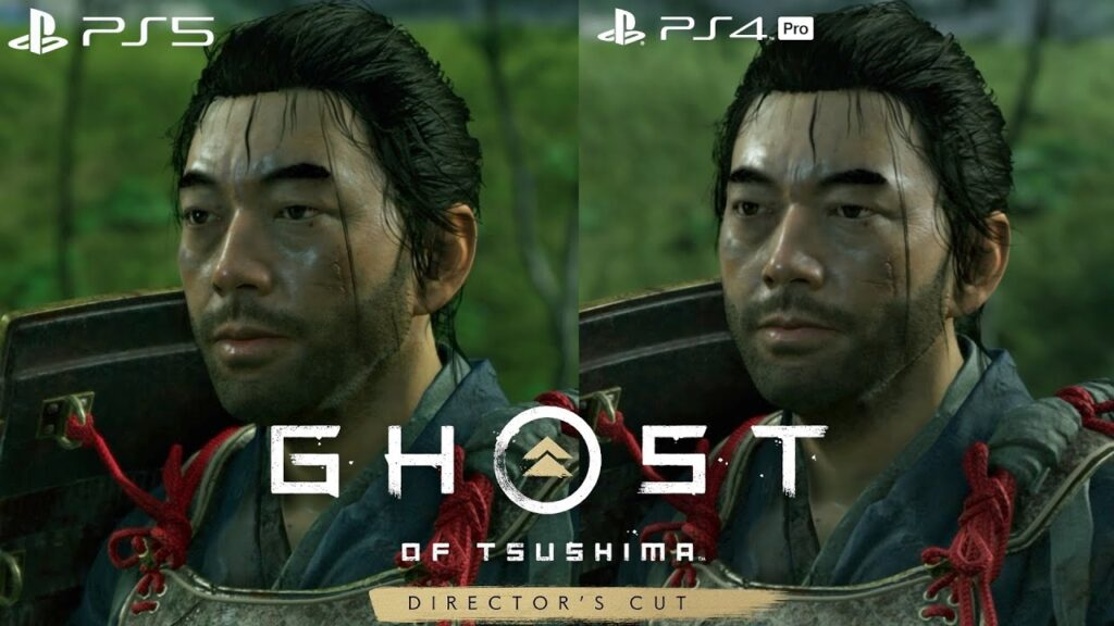ghost of tushima director's cut comparativa