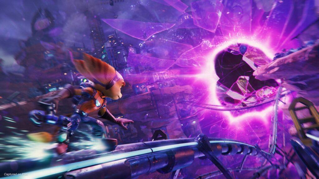 Ratchet  and Clank viajes interdimensionales