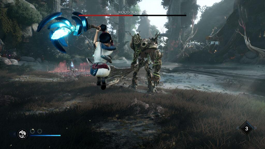 Kena: Bridge of Spirits gameplay